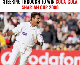 The Return of Waqar and Pakistan steering through to win Coca-Cola Sharjah Cup 2000
