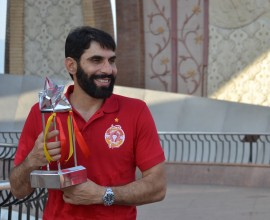 Misbah-ul-Haq lifts the first HBLPSL trophy