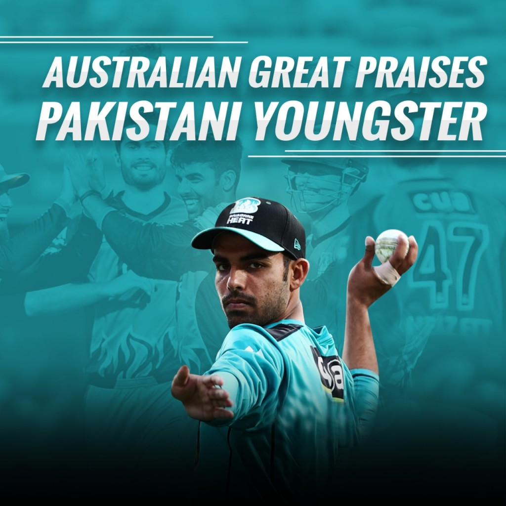Australian legend congratulates Shadab Khan on his terrific BBL debut