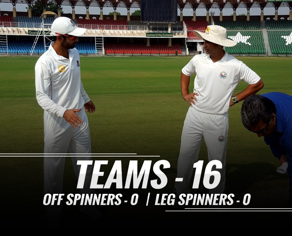 16 Teams | 0 Off-Spinners | 0 Leg-Spinners