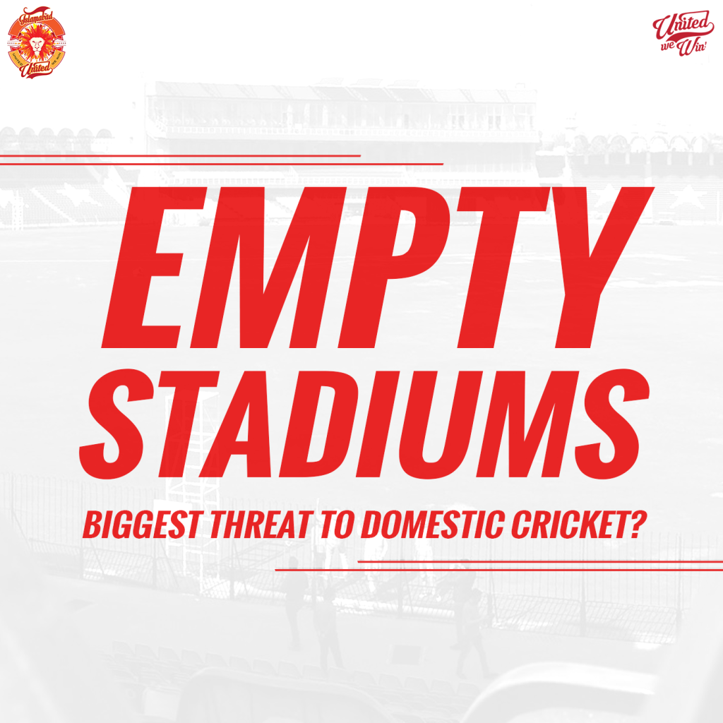 Empty Stadiums | Biggest Threat to Domestic Cricket?