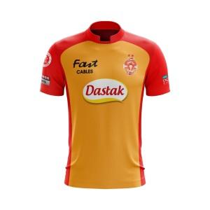 New PSL 2019 ISLAMABAD UNITED T-Shirt Pakistan Super League Jersey